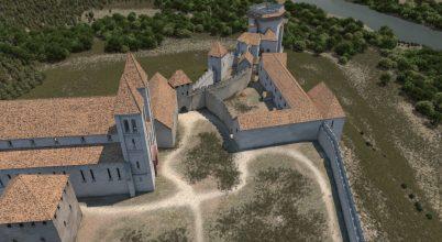 Középkori várak – 3D-rekonstrukciókkal