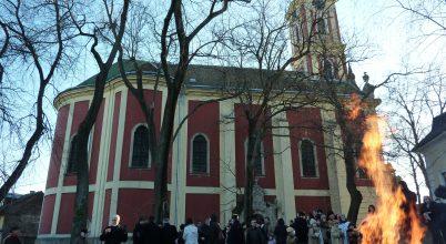 Ortodox karácsony Szentendrén