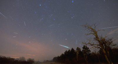 A hónap asztrofotója: Geminida meteorzápor