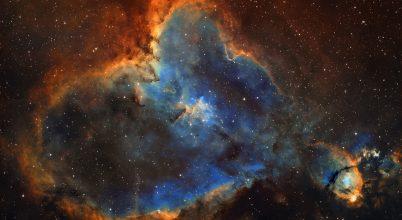 A hónap asztrofotója: Valentin napi jelkép az égen