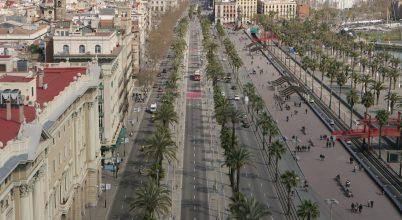 Barcelonában a Fellegvándorok