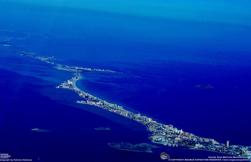 A Baleár-szigeteknél