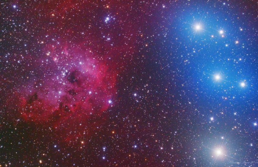A hónap asztrofotója: Kozmikus színkontraszt