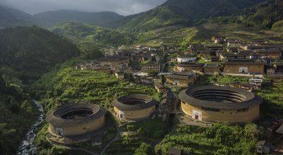 Kína ódon erődházai