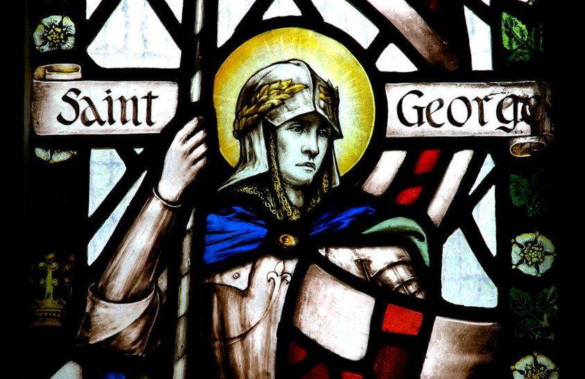Szent György útja Angliáig