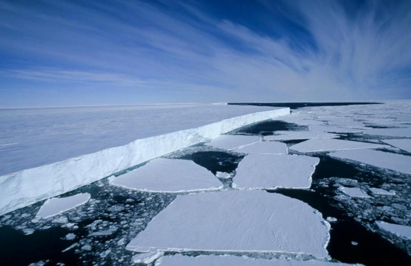 Vékonyodó jég, változó víz alatti világ