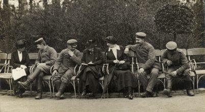 Az I. világháború budapesti képei