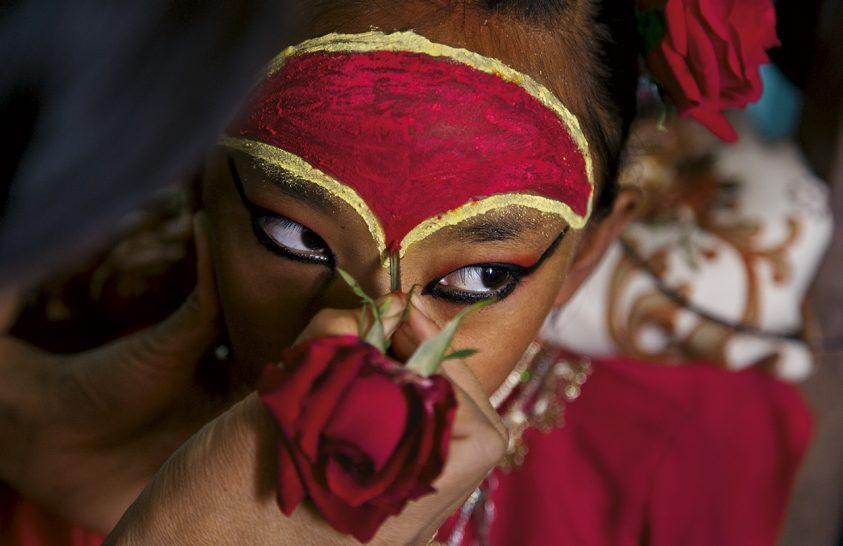 Nepál gyermekistennői