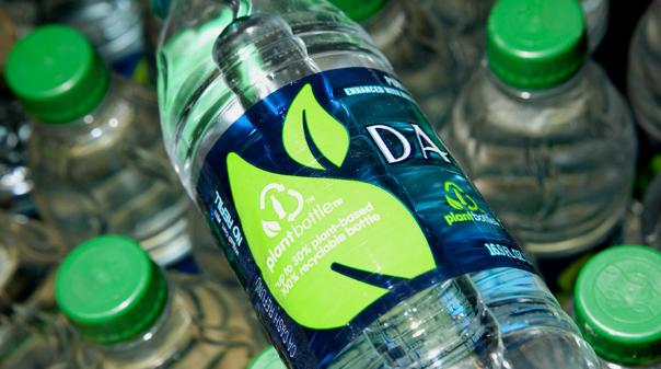 Növényi alapú műanyag