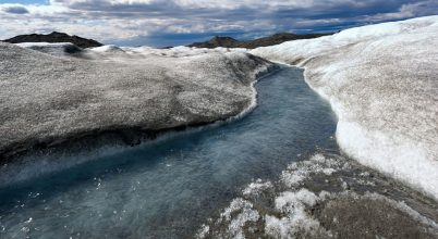 Grönlandon rekordgyorsaságú az olvadás