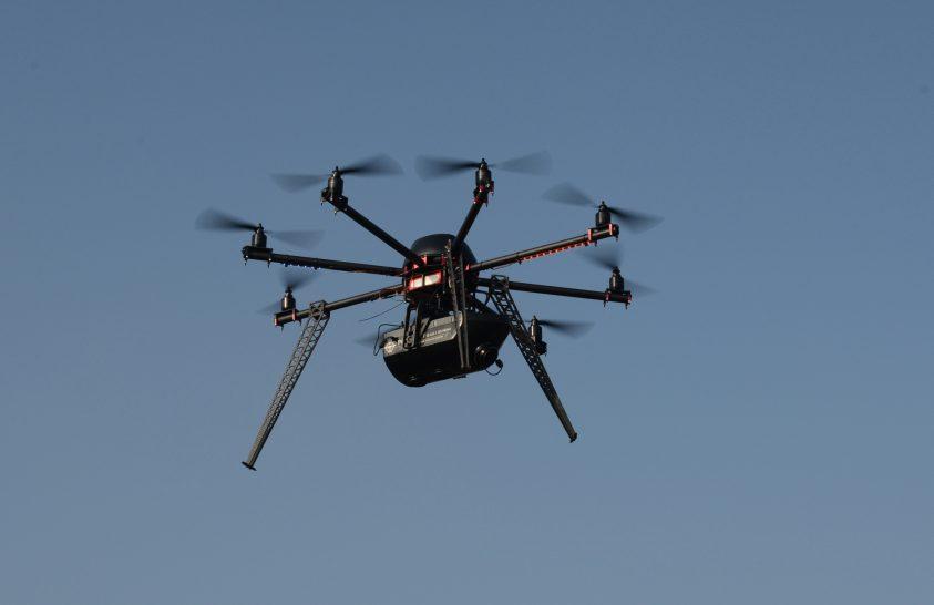 Drónbemutató Halásztelken