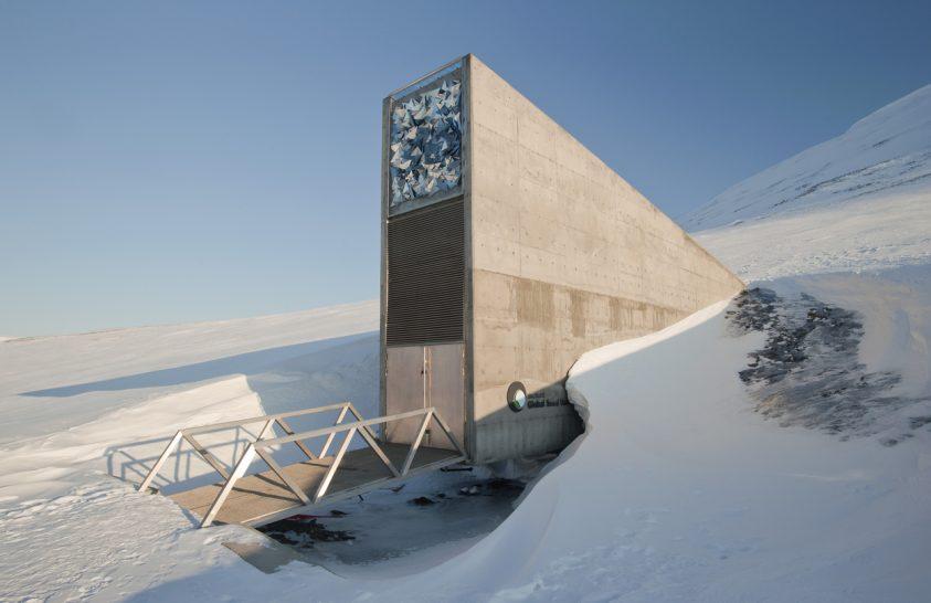 Terménymagvak az északi-sarkköri vésztárolóból