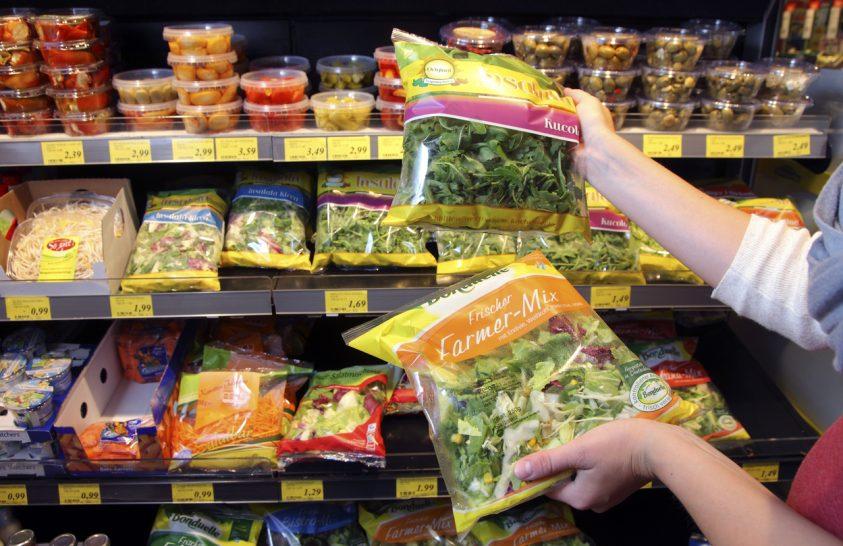 Az élelmiszer és a csomagolóanyag