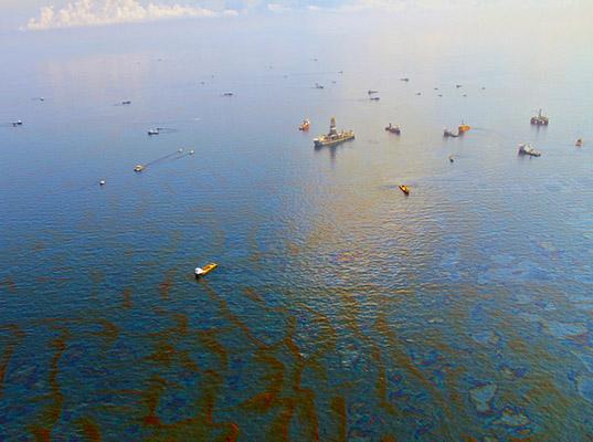 Honnan jön az olajfolt?