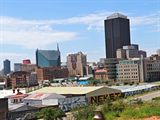 Johannesburg utcáin