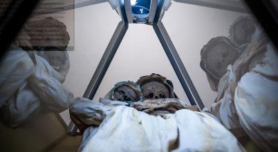 Császármetszés nyomai egy múmián