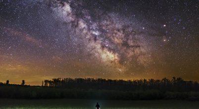 A hónap asztrofotója: Tejút a Zselicben
