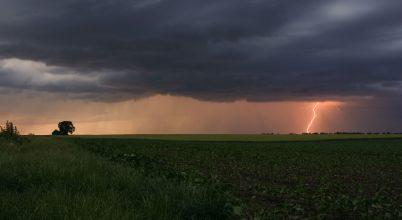 A nap képe: Egy viharos napnyugta
