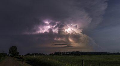 A nap képe: A vihar arca