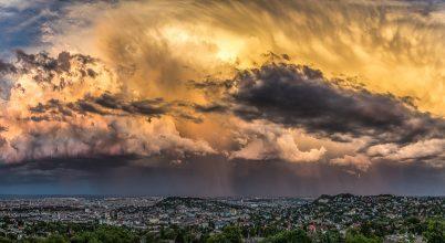A nap képe: Baljós felhők