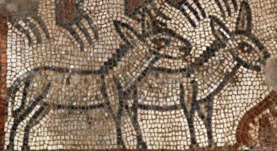 Különleges mozaikok kerültek elő egy zsinagóga feltárásán