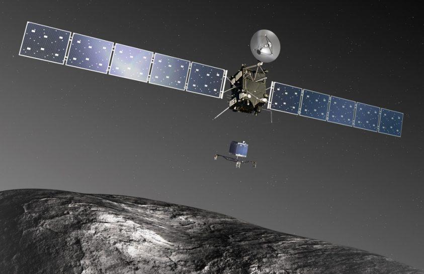 A Rosetta-küldetés zárása