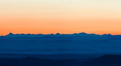 A nap képe: Magas-Tátra Dobogókőről