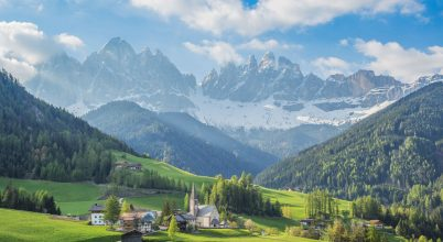 A nap képe: Dolomitok Olaszországban