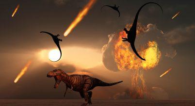 Füst nyelhette el a dinoszauruszokat
