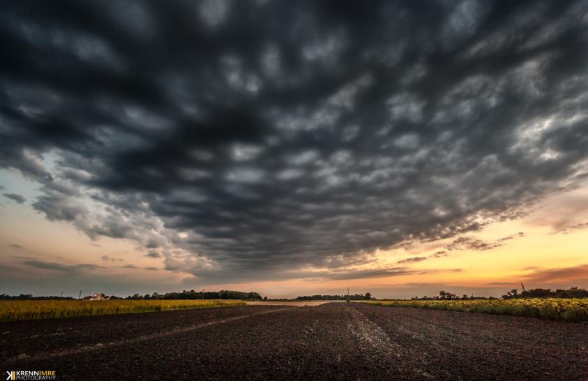 A nap képe: Készülő vihar az Alföld felett