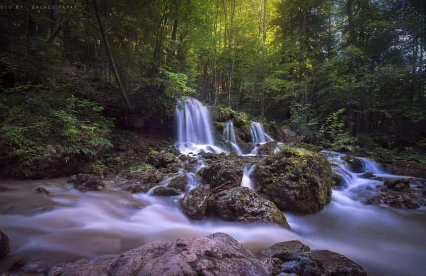 A nap képe: Vízesés