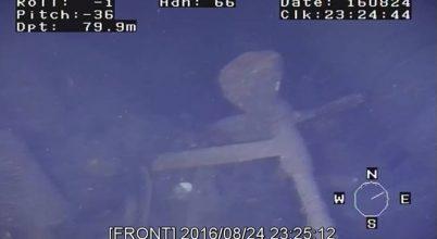 Megtalálták az jütlandi csata páncélos cirkálóját