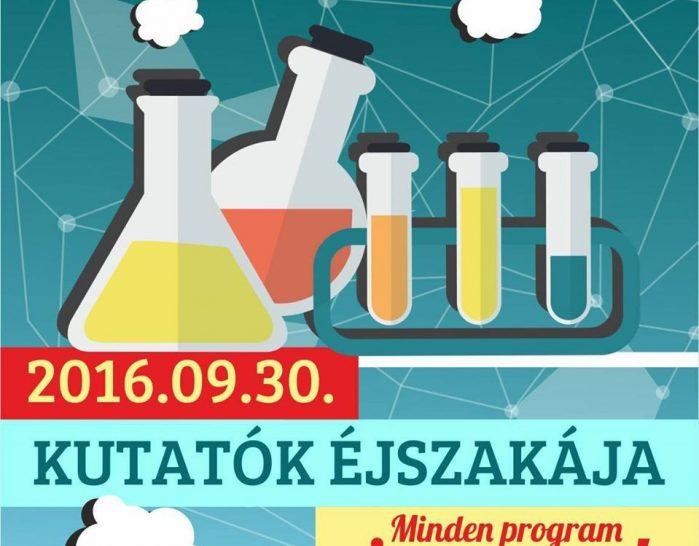 Kutatók éjszakája – 2016
