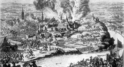 A törökök bejövetele, majd kiűzése Buda várából