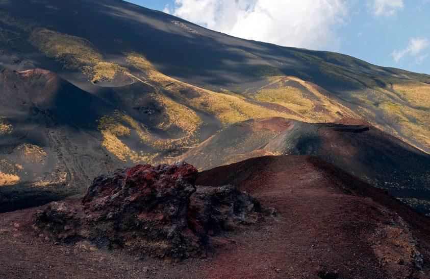 A nap képe: Az Etna színei