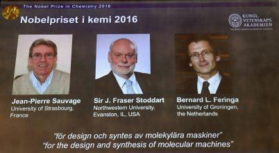 Kémiai Nobel-díj – 2016