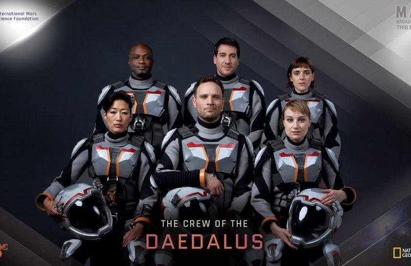 A Daedalus űrhajósai – emberek a Marson
