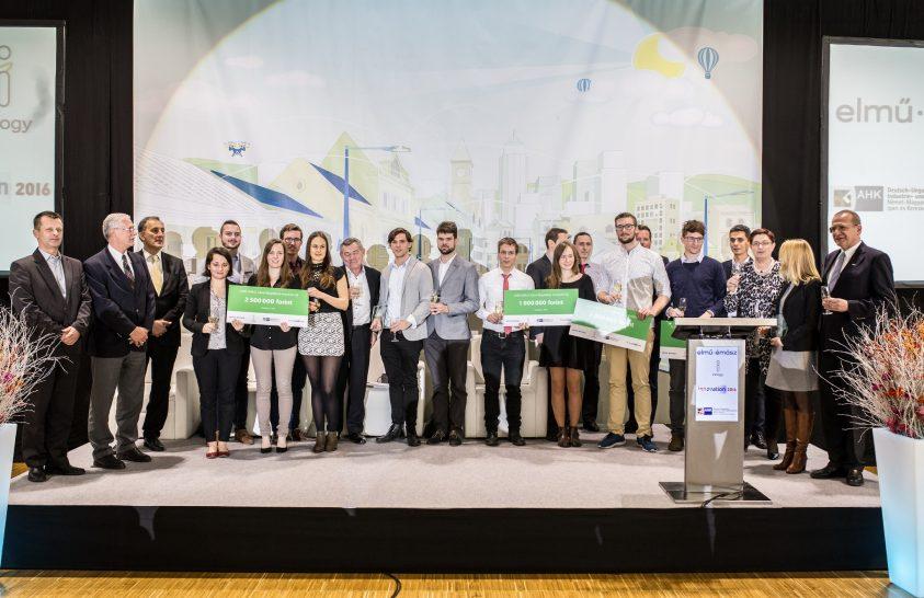 Egyetemisták innovációs ötleteit díjazta az ELMŰ-ÉMÁSZ