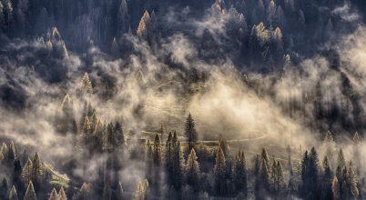 A nap képe: Felhők között