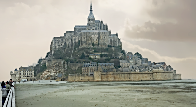 Hétköznapi zarándokként Mont-Saint-Michel szigetén