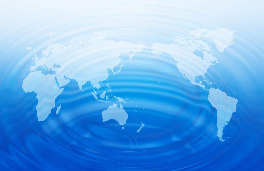 Mire következtethetünk felszíni vizeink eloszlásáról?