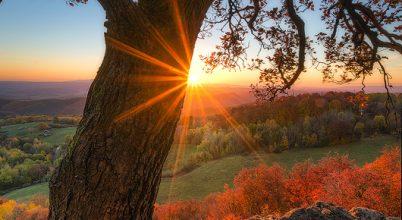 A nap képe: Napkelte Szilváskőn