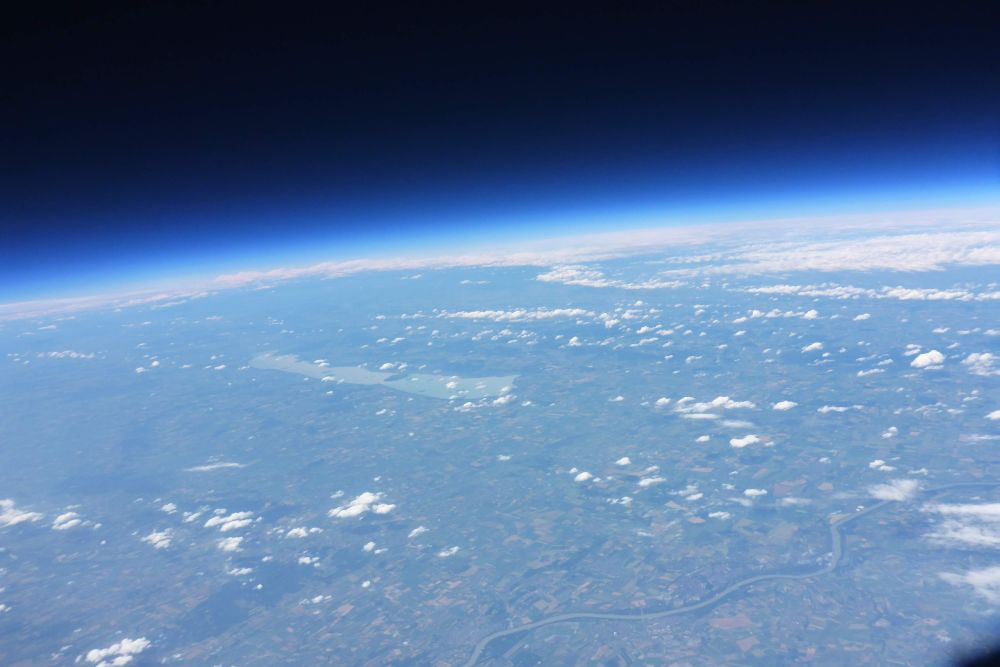 f16b549d2224 A képet 2016.06.17-én készítettük a Stratolab-6 repülés során. Fotó:  Dél-Alföldi Magaslégköri Ballon Csoport