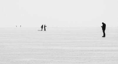 A nap képe: Online, még a jégen is