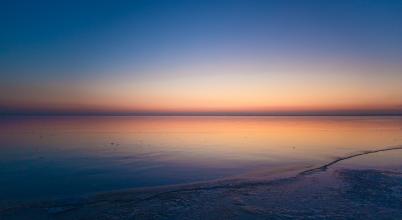 A nap képe: Befagyott Balaton