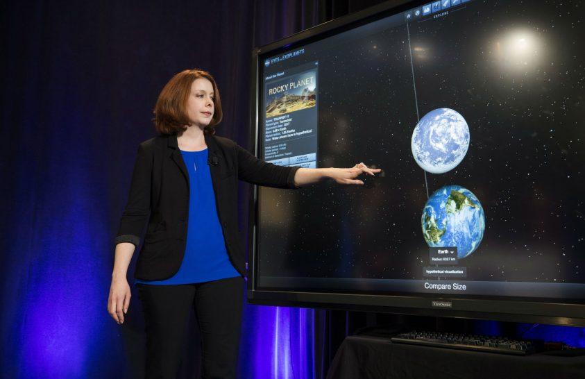 Egyedülálló a frissen felfedezett hétbolygós naprendszer
