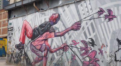 A város, ahol turistalátványosság a graffiti