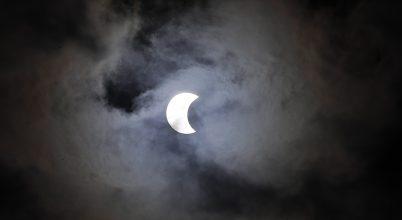 Gyűrűs napfogyatkozás a déli féltekén
