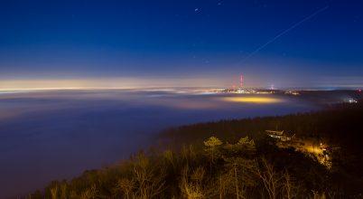 A nap képe: Ködtakaró Budapest felett