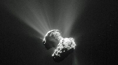Különleges eseményt örökített meg a Rosetta